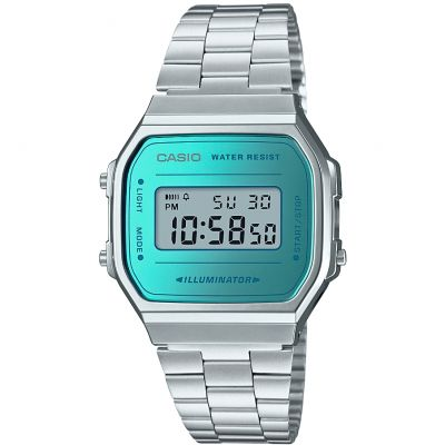 Casio Mirror Dial Retro Watch A168WEM-2EF