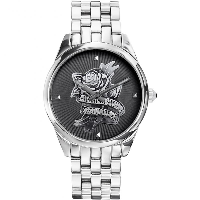 Jean Paul Gaultier Navy Tattoo Ladies Watch
