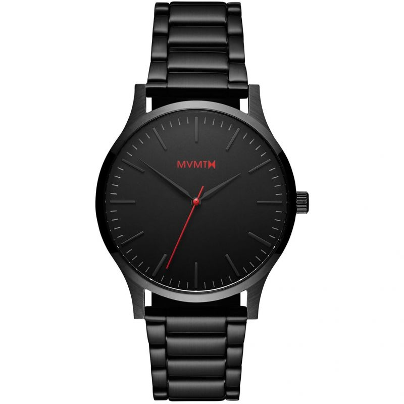 MVMT Black Link 40 Series Watch