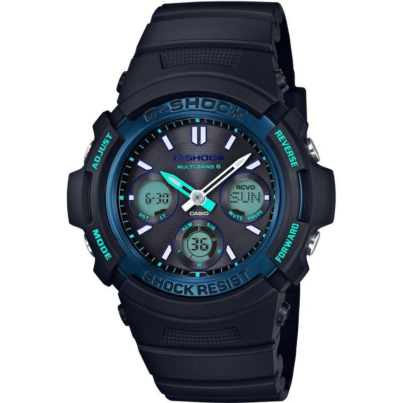 Mens Casio Alarm Chronograph Radio Controlled Watch