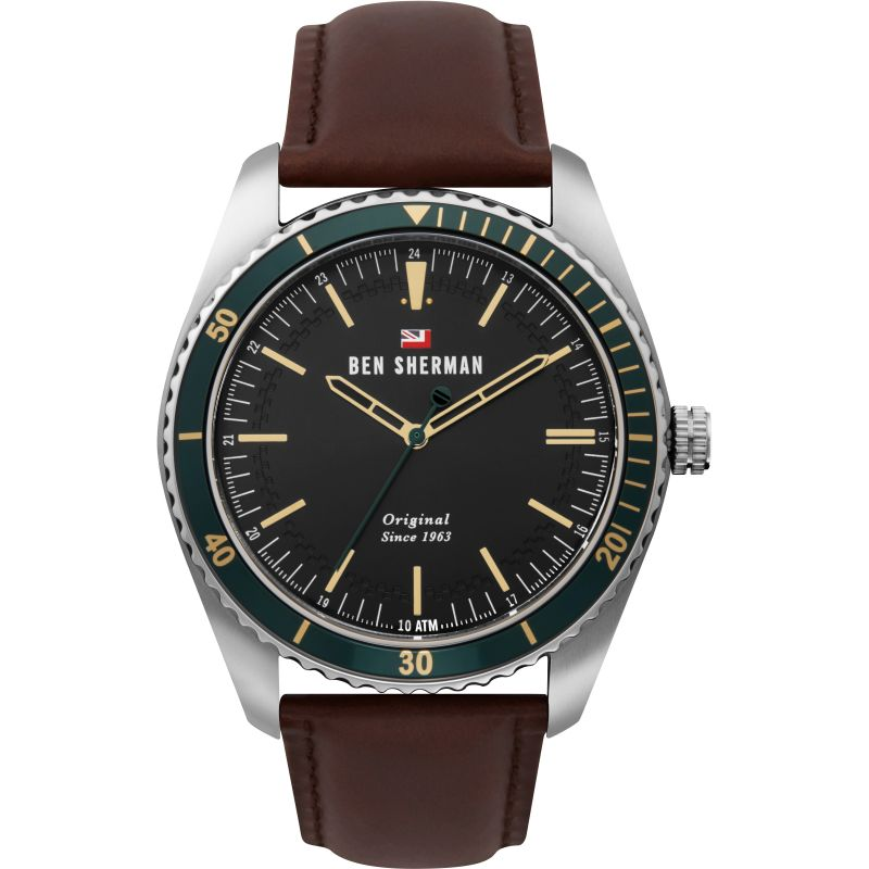 Ben Sherman London Herenhorloge Bruin WBS114NT