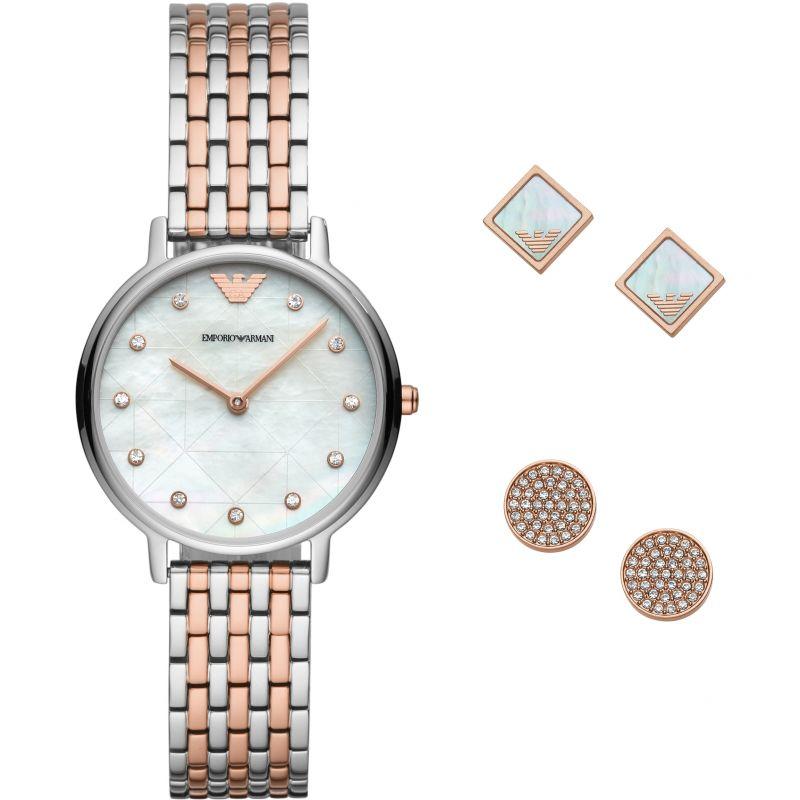 Ladies Emporio Armani Gift Set