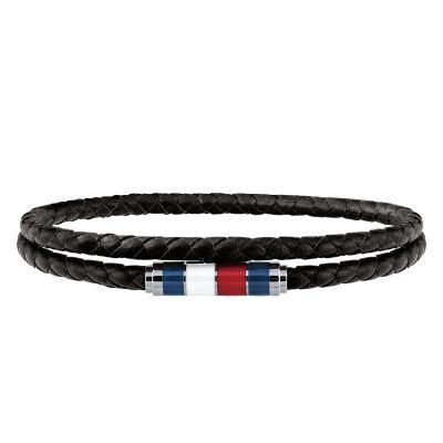 Tommy Hilfiger Jewellery Leather Double Wrap Bracelet 2790056