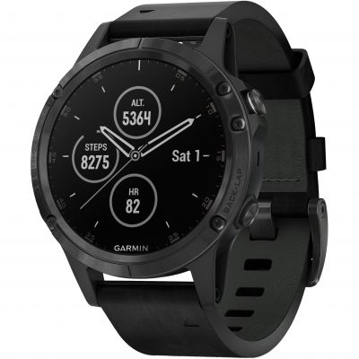 Garmin Fenix 5 Plus Sapphire Bluetooth Smartwatch 010-01988-07
