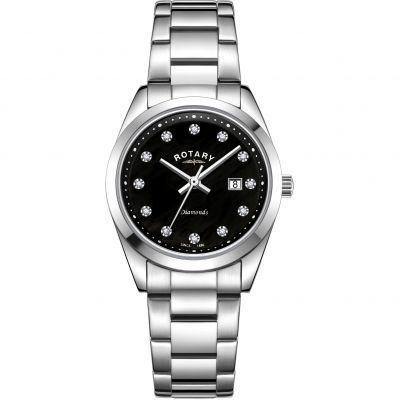 Ladies Rotary Diamond Set Watch LB00275/15