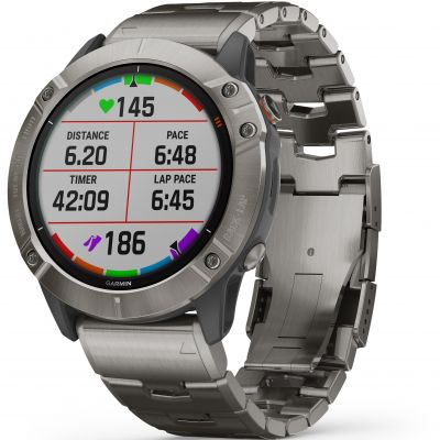 Garmin fenix 6X Pro Solar Bluetooth Smartwatch 010-02157-24