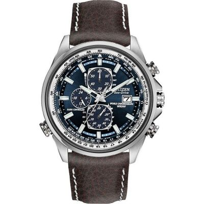 Citizen Herrenchronograph in Schwarz AT8021-01L
