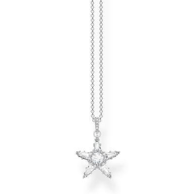Thomas Sabo Zirconia Magic Stars Necklace KE1899-051-14-L45V