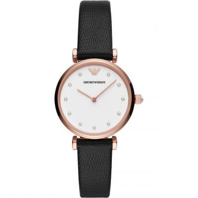 Ladies Emporio Armani Gianni T-Bar Watch AR11270