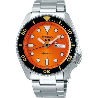 Mens  5 Sports Automatic Watch