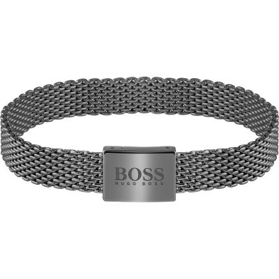 Gents BOSS Jewellery Mesh Essentials Bracelet 1580039M
