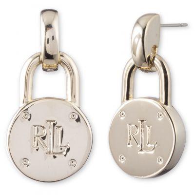 Ladies Lauren Ralph Lauren Plated Earrings 60503020-887
