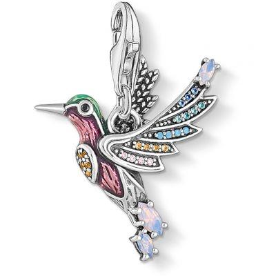 Thomas Sabo Colourful Hummingbird Charm 1826-845-7