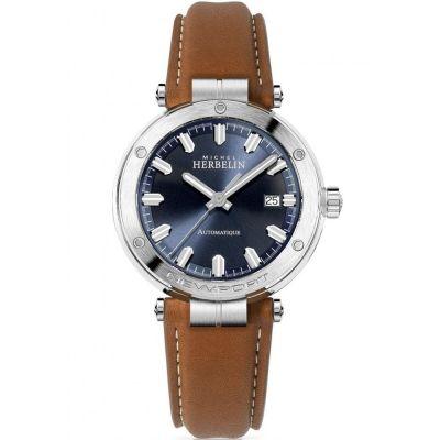 Mens Michel Herbelin Newport Watch 1668/15GO