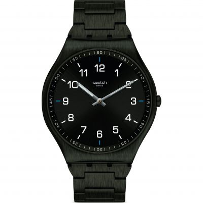 Mens Swatch Skin Suit Black Watch SS07B100G