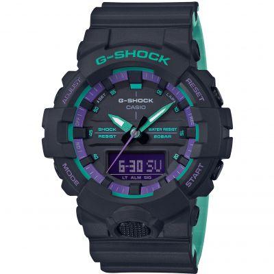 Unisex Casio G-Shock Alarm Chronograph Watch GA-800BL-1AER