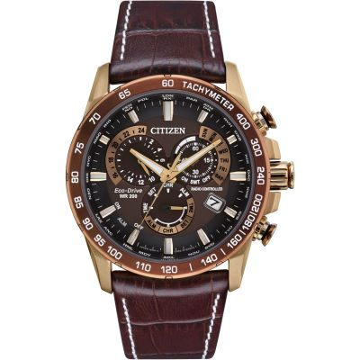 Mens Citizen Perpetual Chrono A.T. Watch CB5896-03X