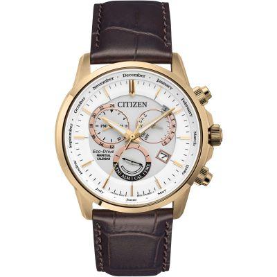 Mens Citizen Calibre 8700 Perpetual Calendar Watch BL8153-11A