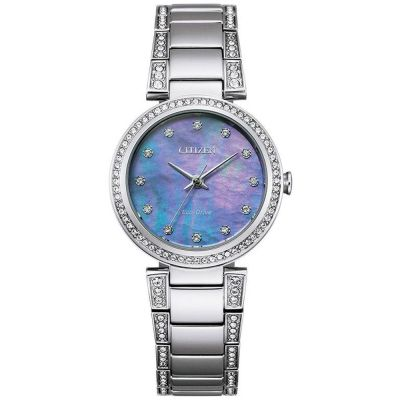 Ladies Citizen Silhouette Crystal Watch EM0840-59N