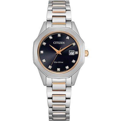 Ladies Citizen Silhouette Diamond Watch EW2586-58E