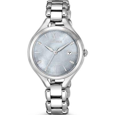 Ladies Citizen Ladies Super Titanium Titanium Watch EW2560-86X