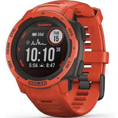 Unisex Garmin Instinct Solar Bluetooth Smartwatch 010-02293-20