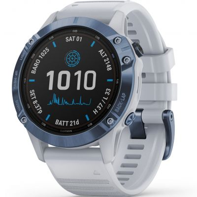 Unisex Garmin fenix 6 Pro Solar Bluetooth Smartwatch 010-02410-19