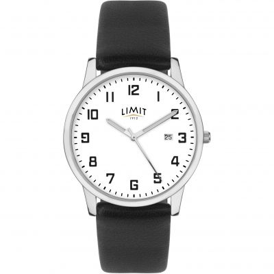 Mens Limit Silver Coloured Classic DateWatch 5741.01