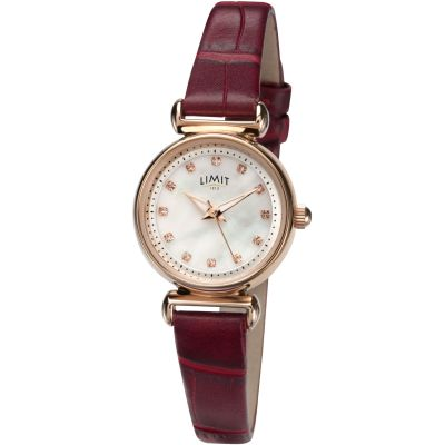 Ladies Limit Rose Gold Plated Watch 60043.01