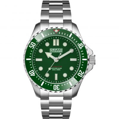 Mens Depth Charge Automatic Divers Watch DB106631