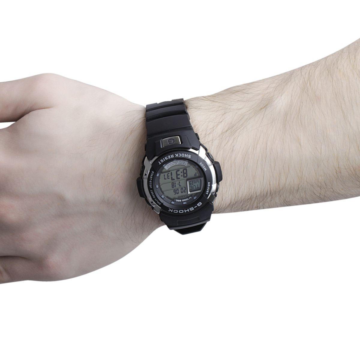 herren casio g shock wecker chronograf uhr g 7700 1er. Black Bedroom Furniture Sets. Home Design Ideas