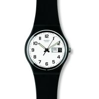 Swatch Once Again Herrklocka Svart GB743