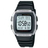 Herren Casio Sports Leisure Alarm Chronograph Watch W-96H-1AVES