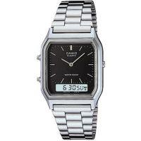 homme Casio Classic Alarm Chronograph Watch AQ-230A-1DMQYES