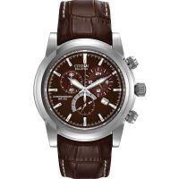 Herren Citizen Chronograph Eco-Drive Watch AT0550-11X