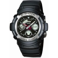 Herren Casio G-Shock Alarm Chronograph Watch AW-590-1AER