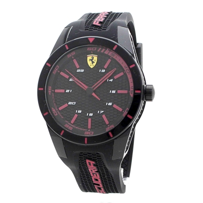 homme scuderia ferrari redrev montre 0830245. Black Bedroom Furniture Sets. Home Design Ideas