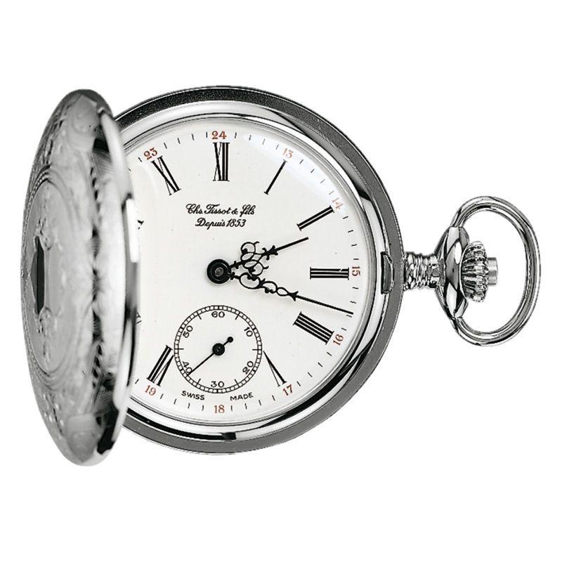 Tissot Savonette Full Hunter Pocket Mechanical Watch