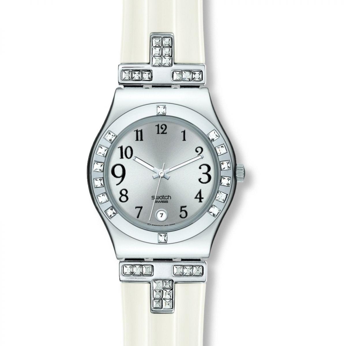 Reloj swatch swiss mujer blanco
