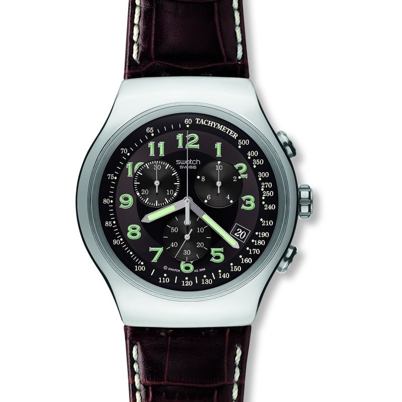 Mens Swatch Your Turn Chronograph Watch