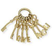I Love You Keys Charm