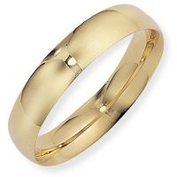 5mm Essential Court-Shaped Band Size W