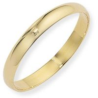 3mm Essential D-Shaped Band Size O