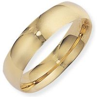 6mm Essential Court-Shaped Band Size X