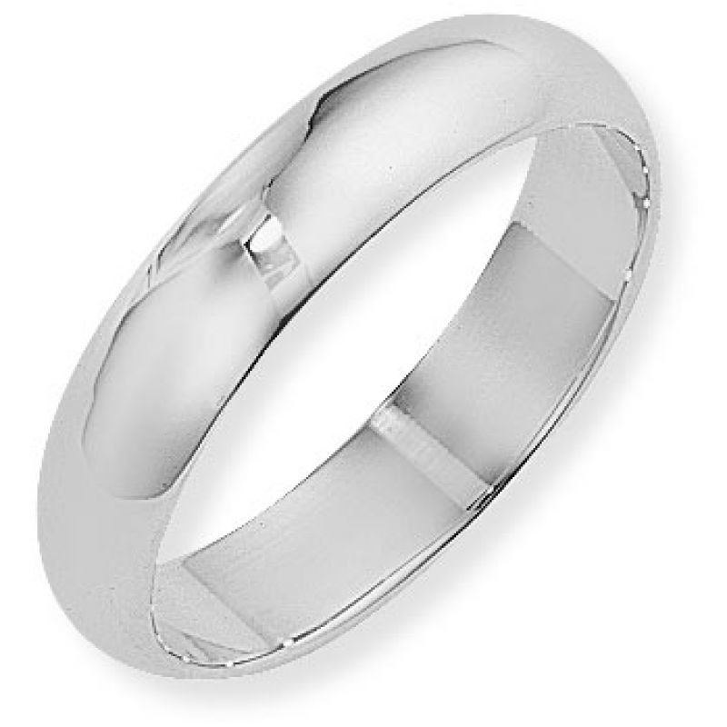 5mm D-Shaped Band Size V