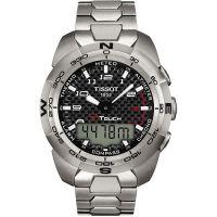 Herren Tissot T-Touch Expert Titan Wecker Chronograf Uhr