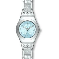 Damen Swatch Blume Box Uhr