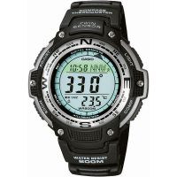 Mens Casio Pro Trek Alarm Chronograph Watch SGW-100-1VEF