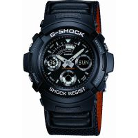 Herren Casio G-Shock Alarm Chronograph Watch AW-591MS-1AER