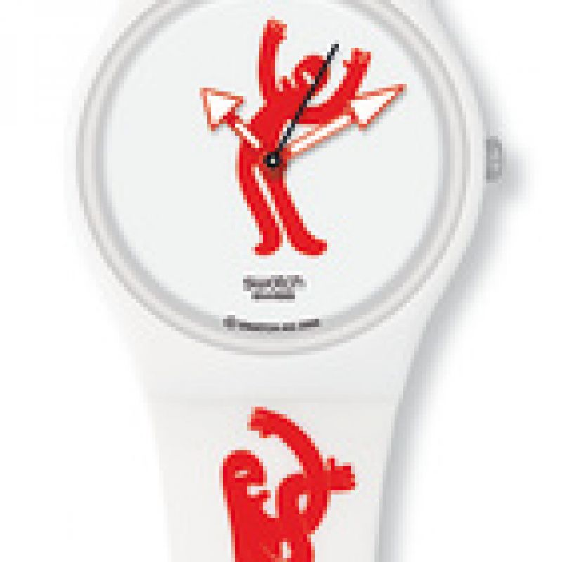 Ladies Swatch Show Your Moves Watch GW146